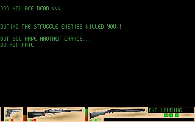 Operation Skuum [Falcon030] atari screenshot